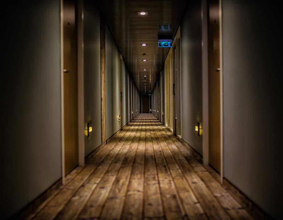 Hotel Lighting Hallway